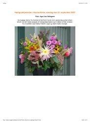 Høstgudstjenesten i Karise Kirke, søndag den 23. september 2007