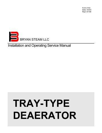 Form 2018 water boiler start up and operation bryan boilers tray type deaerator bryan boilers swarovskicordoba Gallery