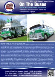Newsletter May 2012 1 - South East Coachworks