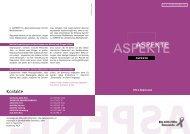 Aspekte Nr. 22 - Die Aidshilfen Österreichs