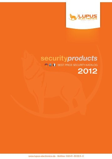 Laden Sie hier unseren aktuellen Security-Katalog herunter