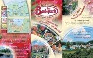 Hotal Am Badepark - Hotelprospekt 2006 - Hotel Am Badepark