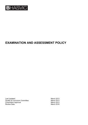 an examination of the policy of 2 apccn certification examination policy handbook_06/16 certification examination policy handbook hong kong college of.
