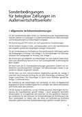 Sonderbedingungen für beleglose Zahlungen im - Frankfurter ... - Page 5