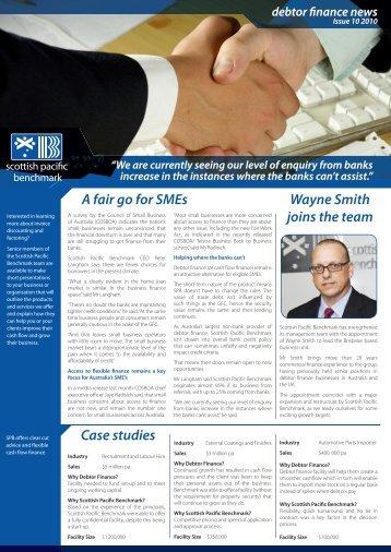 A fair go for SMEs Wayne Smith joins the team ... - Debtor Finance