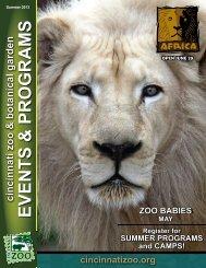 EVENTS & PROGRAMS - The Cincinnati Zoo & Botanical Garden
