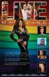LIVE MAGAZINE VOL 8, Issue #195a October 31st THRU November 14th, 2014