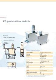 F6 pushbutton switch - Barcitronic