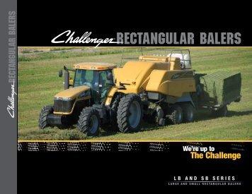 RectangulaR baleRs - Challenger