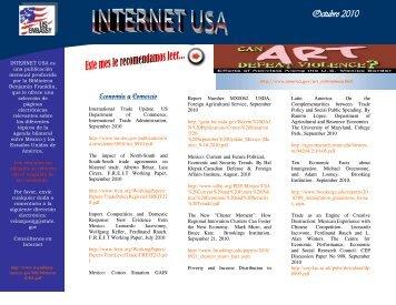 Octubre 2010 - Embajada de Estados Unidos en México