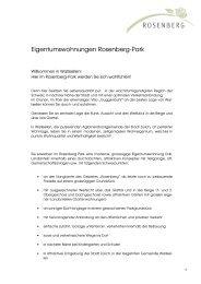 Eigentumswohnungen Rosenberg-Park - Homegate.ch