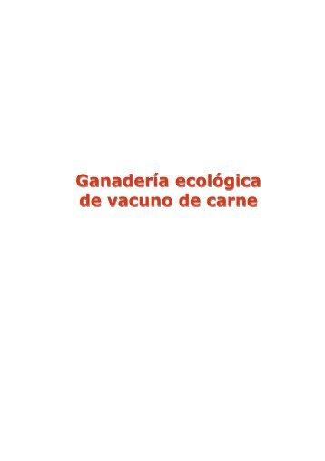 Ganadería ecológica de vacuno de carne ... - Projects - IFES