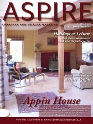 Holidays & Leisure - Aspire Magazine