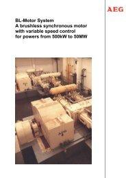BL-Motor System - AEG Industrial Engineering