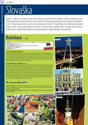 Bratislava ∙ 2 dni - Kompas