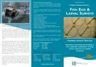 'Fish Egg & Larval Surveys' (1.1 Mb pdf). - Marine Institute