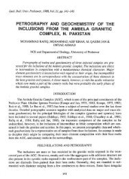 Petrography And Geochemistry Of The Inclusions From The Ambela ...