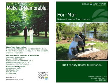 For-Mar - Genesee County Parks and Recreation Commission