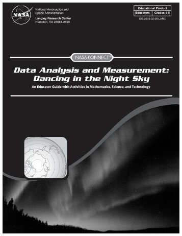 Dancing in the Night Sky pdf - ER - NASA