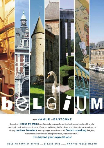from NAMUR to BASTOGNE it is beyond your expectations! - Belgium