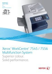 Colour Multifunction System: Colour Printing | Xerox WorkCentre ...