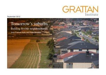 Tomorrow's suburbs - Mall