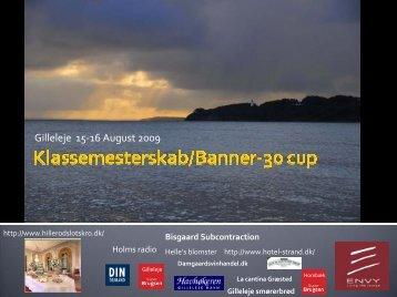 Klassemesterskab 2009, Gilleleje - Banner 30