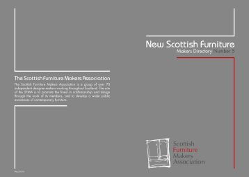 New Scottish Furniture: Makers Directory