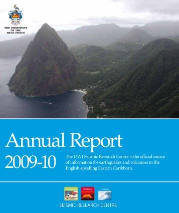 Annual Report 2009-10 - The University of the West Indies Seismic ...