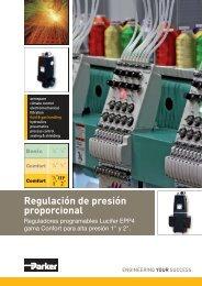 Regulación de presión proporcional - Elion
