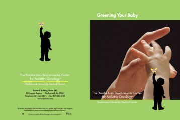 Greening Your Baby - The Deirdre Imus Environmental Health Center