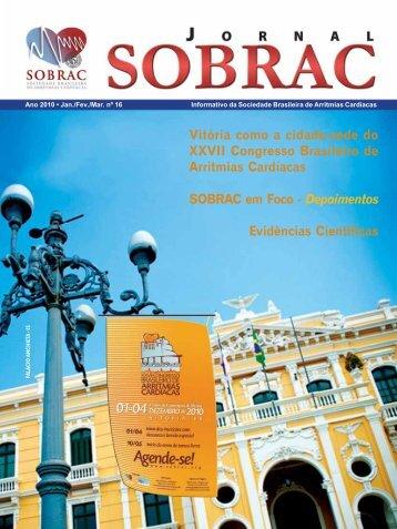 16º edição do Jornal da SOBRAC - Departamentos Científicos ...