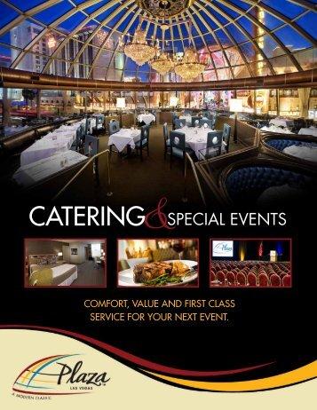 CATERING - Plaza Hotel & Casino