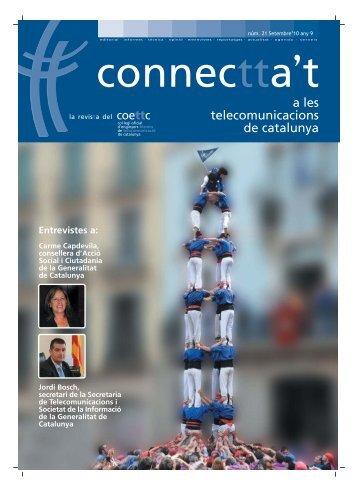 a les telecomunicacions de catalunya - Col·legi Oficial d'Enginyers ...