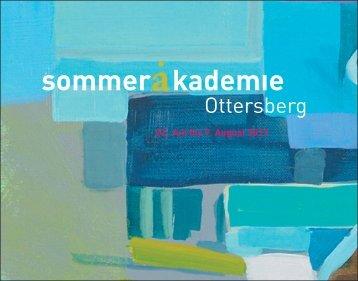 Programm Sommerakademie 2013 (PDF 5 MB) - Ottersberg