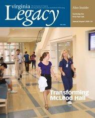 Transforming McLeod Hall - School of Nursing - University of Virginia