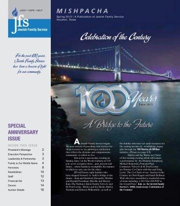 Celebration of the Century - Jewish Family Service