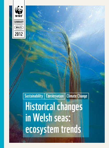 Historical changes in Welsh seas: ecosystem trends - WWF UK