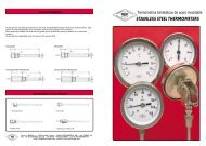 STAINLESS STEEL THERMOMETERS - Fratellimagni.com