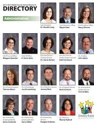Leadership Directory - Greeley Schools