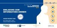 Einladung zum innovativen Dinner - Landeshauptstadt Wiesbaden