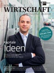 Berliner Wirtschaft - Ausgabe November 2014