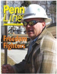 May 2006 - PREA - The Pennsylvania Rural Electric Association