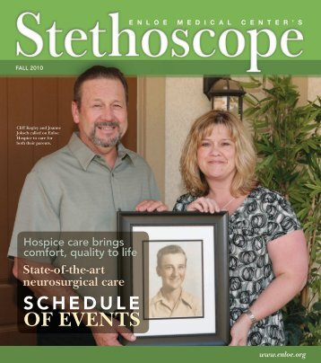 Download Stethoscope, Fall 2010 - Enloe Medical Center