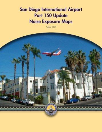 San Diego International Airport Part 150 Update Noise Exposure Maps