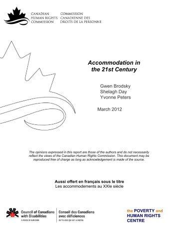 Download PDF - Commission canadienne des droits de la personne