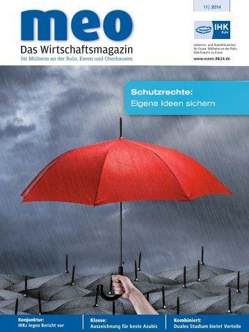 MEO - Das Wirtschaftsmagazin der IHK Essen und Oberhausen