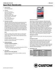 Aqua Mix® NanoScrub® - Custom Building Products