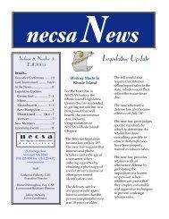 Fall 2005 - New England Convenience Store Association