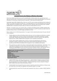 Consent Form for the Release of Medical Information